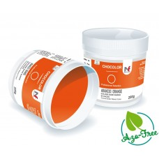 Chocolor- cocoa butter based colours Orange 200g