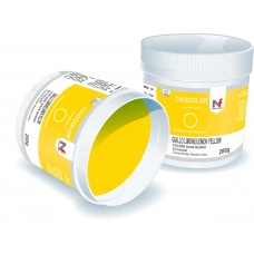 Chocolor- cocoa butter based color Lemon Yellow 200g