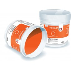 Chocolor- cocoa butter based colour Orange 200g
