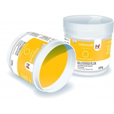 Chocolor- cocoa butter based colors Egg Yellow 200g