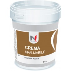 Spreadable Cream - Gianduia Vegan no Sugar 5Kg