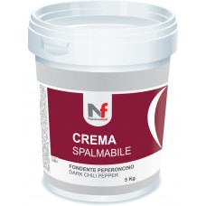 Spreadable Cream - Dark - Chili Pepper 5Kg