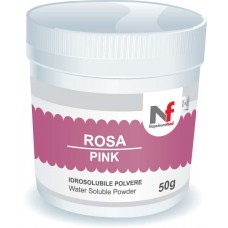 Powder water-soluble colours Pink 50g