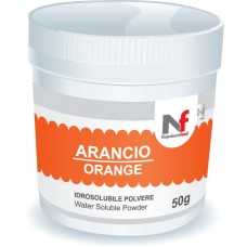 Powder water-soluble colours Orange 50g