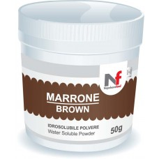 Powder water-soluble colours Brown Chocolate 50g