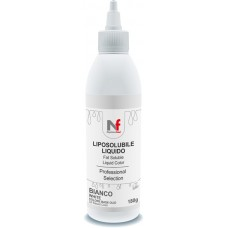 Liquid fat-soluble colors White 180g