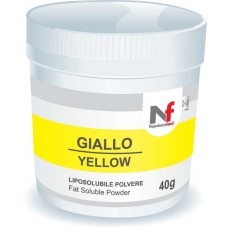 Powder fat-soluble colors Yellow 40g