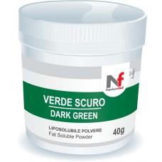 Powder fat-soluble colors Dark Green 40g