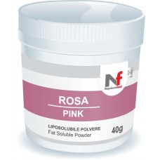 Powder fat-soluble colors Pink 40g